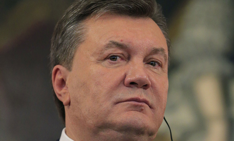 Prezydent Ukrainy Wiktor Janukowycz. /AFP