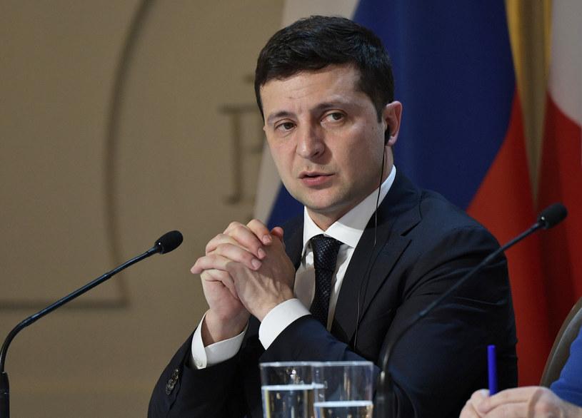 Prezydent Ukrainy Wołodymyr Zełenski /SPUTNIK Russia /East News