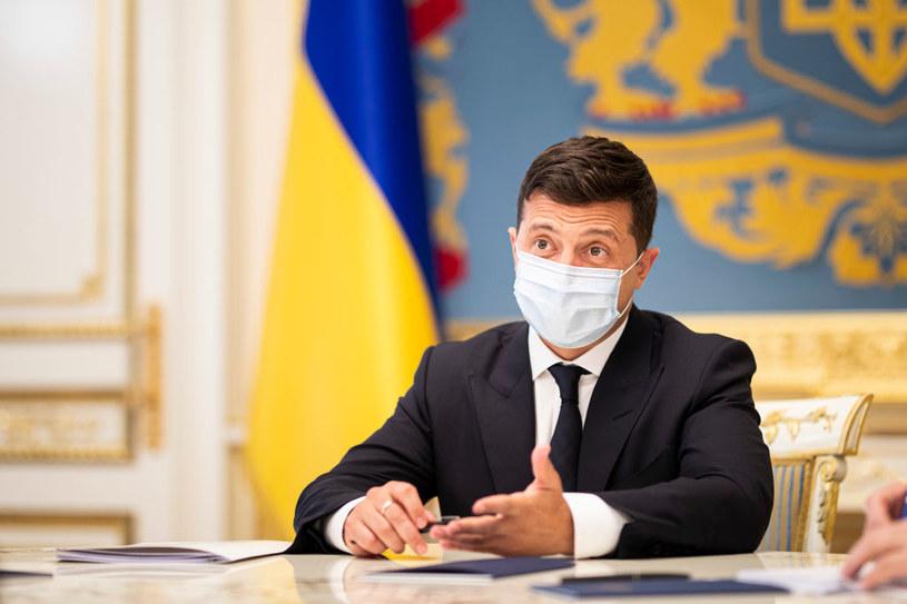Prezydent Ukrainy Wołodymyr Zełenski /Florian Gaertner/Photothek  /Getty Images