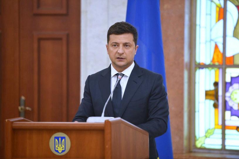 Prezydent Ukrainy Wołodymyr Zełenski /Anatoly Kiriyak/SPUTNIK Russia /East News