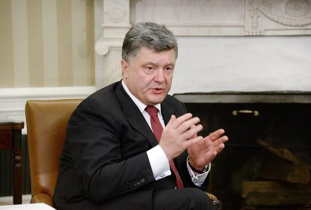 Prezydent Ukrainy /OLIVIER DOULIERY /PAP/EPA