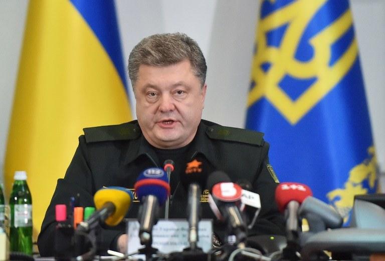 Prezydent Ukrainy /AFP