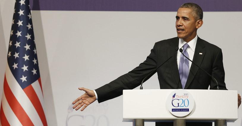 Prezydent USA Barack Obama chce przyjąć uchodźców /PAP/EPA