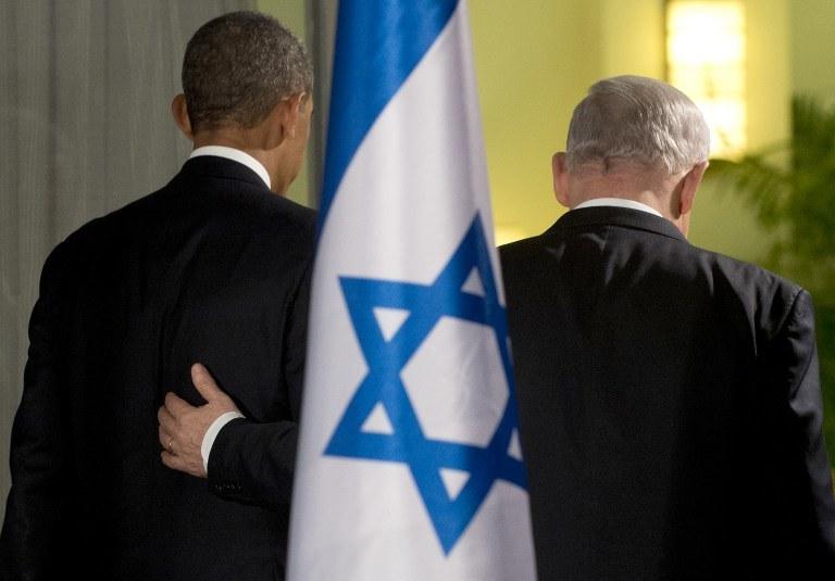 Prezydent USA Barack Obama przebywa z wizytą w Izraelu /AFP