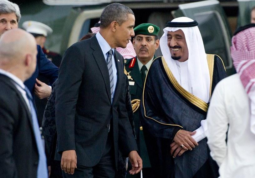Prezydent USA Barack Obama przyleciał w piątek do Arabii Saudyjskiej. /AFP