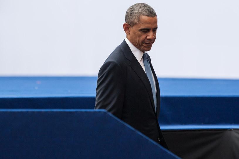 Prezydent USA Barack Obama /Krystian Maj /Agencja FORUM