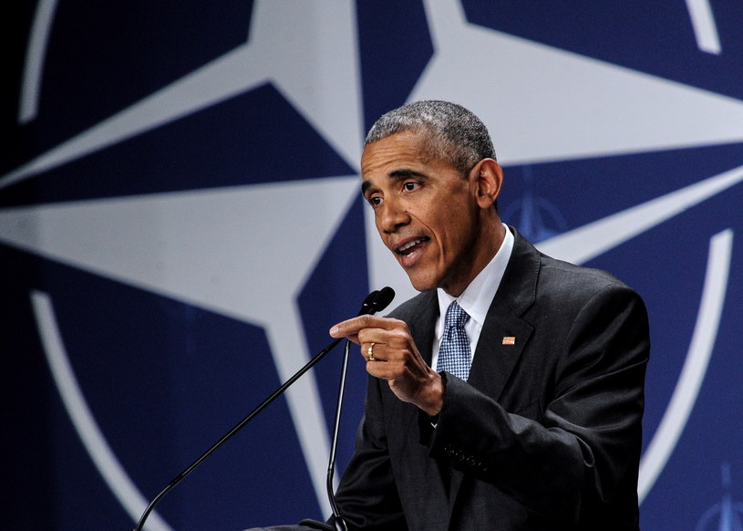 Prezydent USA Barack Obama /Marcin Obara /PAP