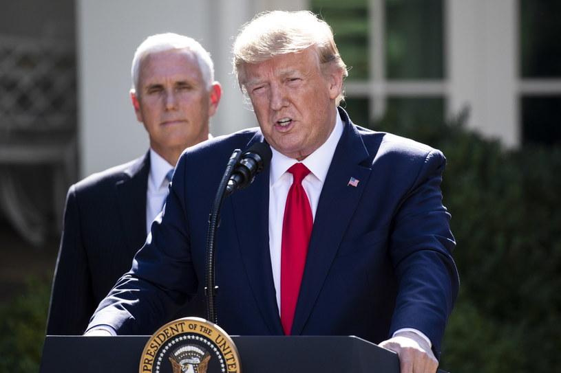 Prezydent USA Donald Trump odwołał wizytę w Polsce /MICHAEL REYNOLDS    /PAP/EPA