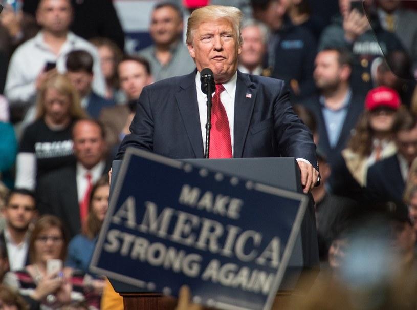 Prezydent USA Donald Trump /AFP