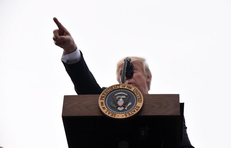 Prezydent USA Donald Trump /Olivier Douliery/POOL /PAP/EPA
