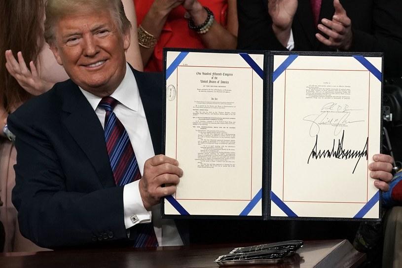 Prezydent USA Donald Trump /ALEX WONG /AFP