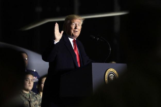 Prezydent USA Donald Trump /YURI GRIPAS / POOL /PAP/EPA