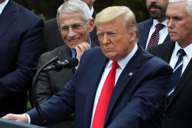 Prezydent USA Donald Trump /CHIP SOMODEVILLA / GETTY IMAGES NORTH AMERICA / AFP /AFP