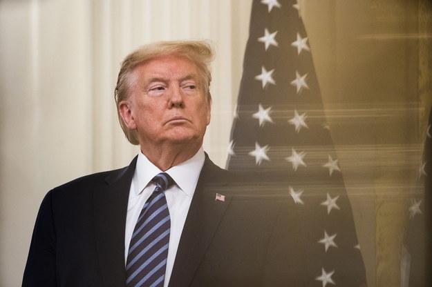 Prezydent USA Donald Trump /JIM LO SCALZO /PAP/EPA