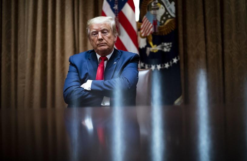 Prezydent USA Donald Trump /Doug Mills / POOL /PAP/EPA