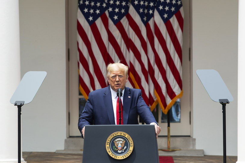 Prezydent USA Donald Trump /Stefani Reynolds  /PAP/EPA