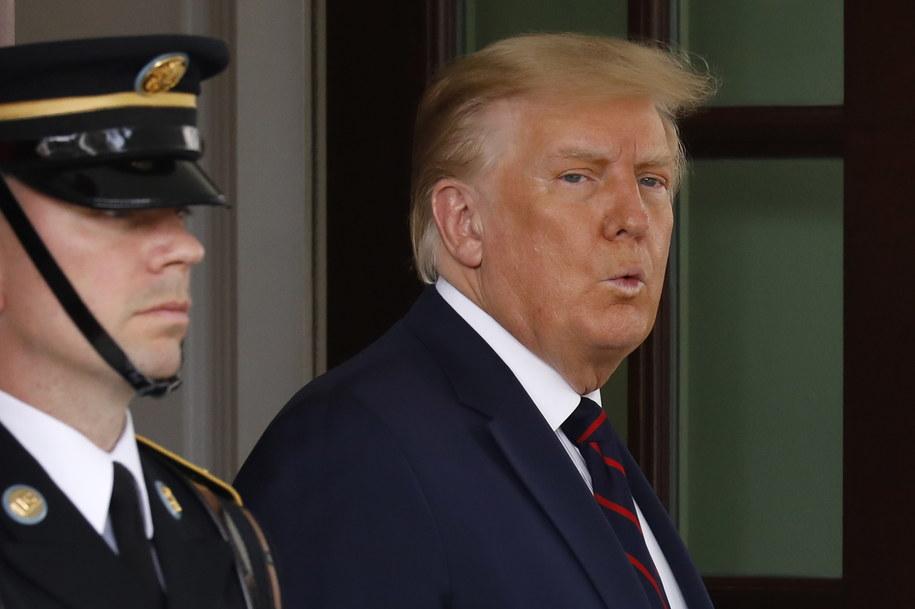 Prezydent USA Donald Trump /Yuri Gripas /ABACA POOL /PAP/EPA