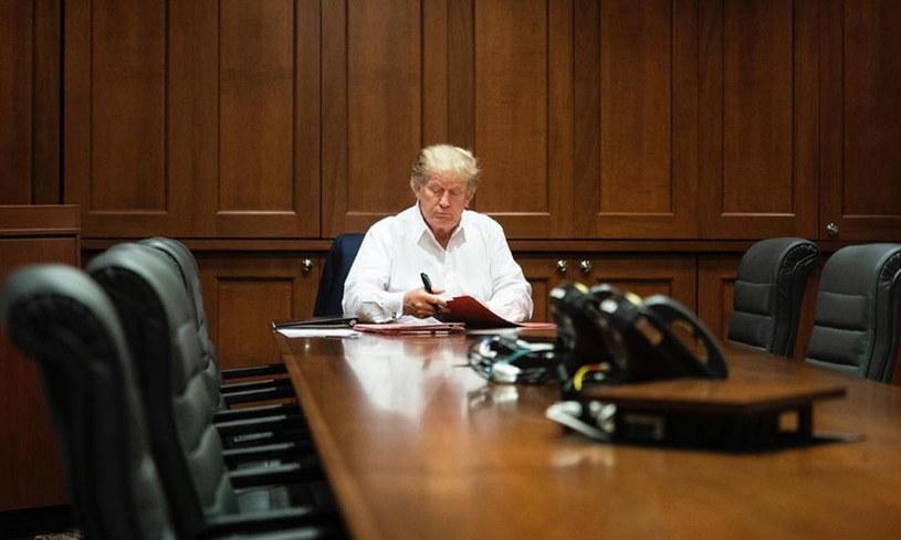 Prezydent USA Donald Trump /JOYCE N. BOGHOSIA / THE WHITE HOUSE / /PAP/EPA
