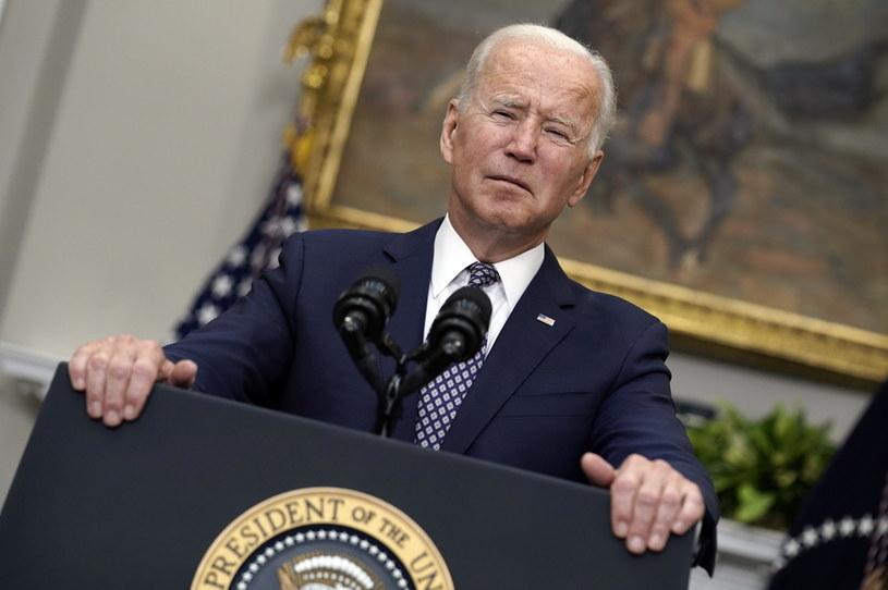 Prezydent USA Joe Biden zgodził się na kontrakcję w Afganistanie /YURI GRIPAS / POOL /PAP/EPA