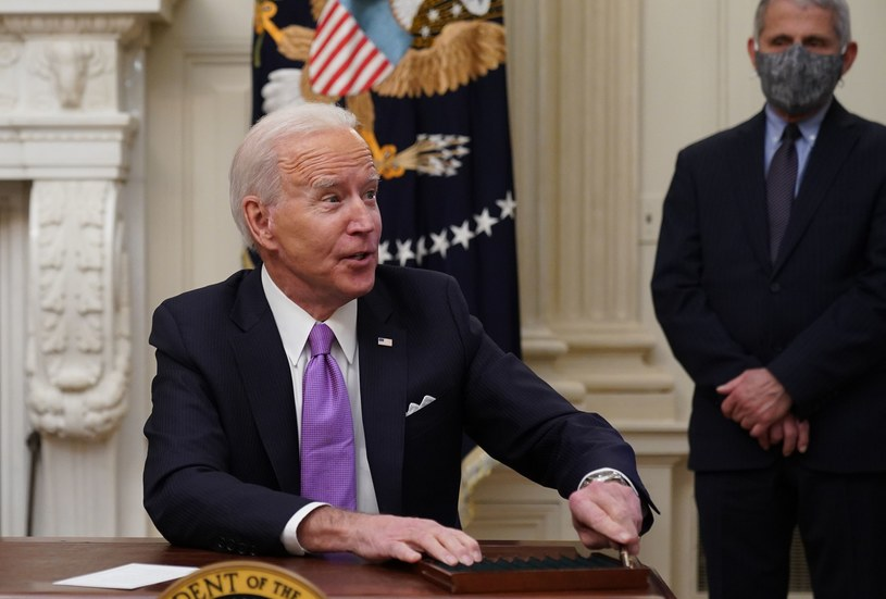 Prezydent USA Joe Biden /AFP