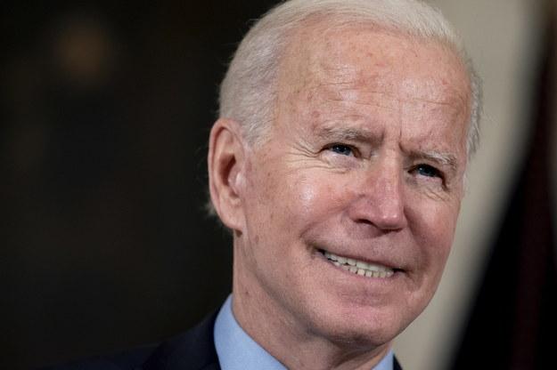 Prezydent USA Joe Biden /Stefani Reynolds / POOL /PAP/EPA