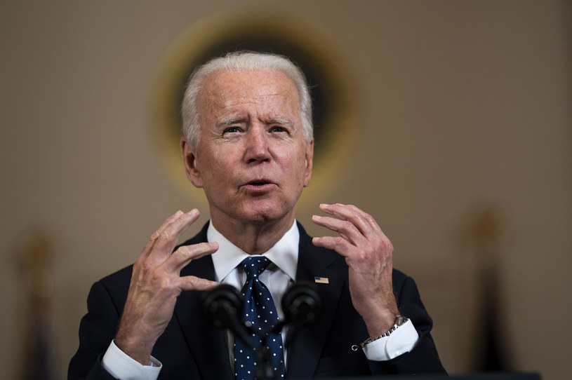 Prezydent USA Joe Biden /Doug Mills / POOL /Getty Images