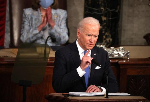 Prezydent USA Joe Biden /Chip Somodevilla / POOL /PAP/EPA