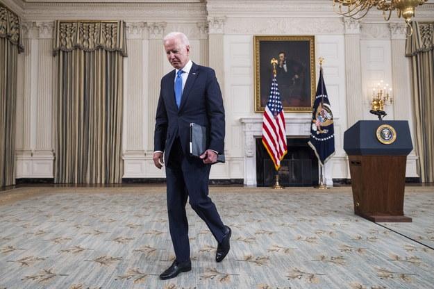 Prezydent USA Joe Biden /JIM LO SCALZO /PAP/EPA