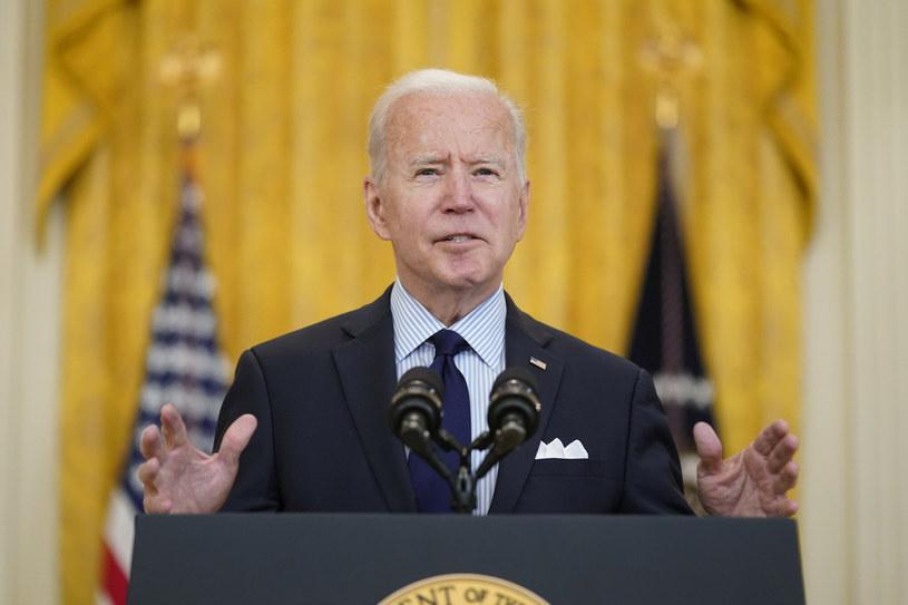 Prezydent USA Joe Biden /AP/Associated Press /East News