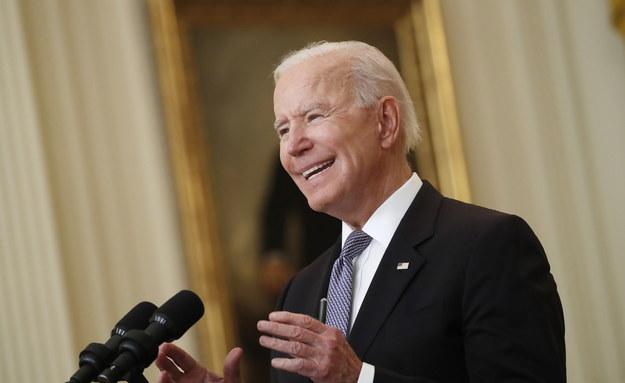 Prezydent USA Joe Biden /SHAWN THEW/POOL /PAP/EPA