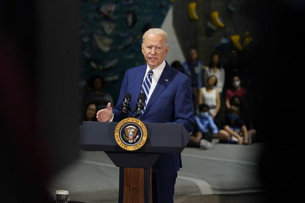 Prezydent USA Joe Biden /CHRIS KLEPONIS / POOL /PAP/EPA