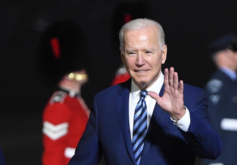 Prezydent USA Joe Biden /NEIL HALL / POOL /PAP/EPA