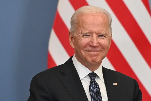 Prezydent USA Joe Biden /Fabrice COFFRINI / POOL /PAP/EPA