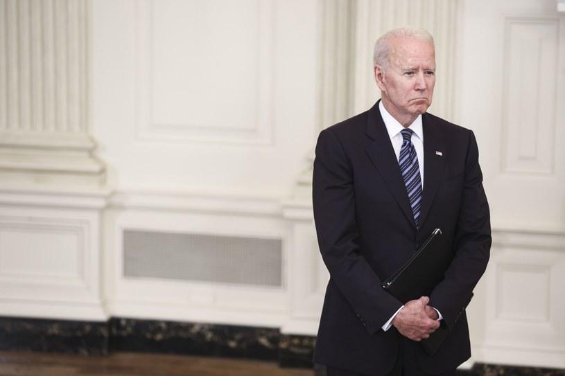 Prezydent USA Joe Biden /Oliver Contreras/POOL /PAP/EPA