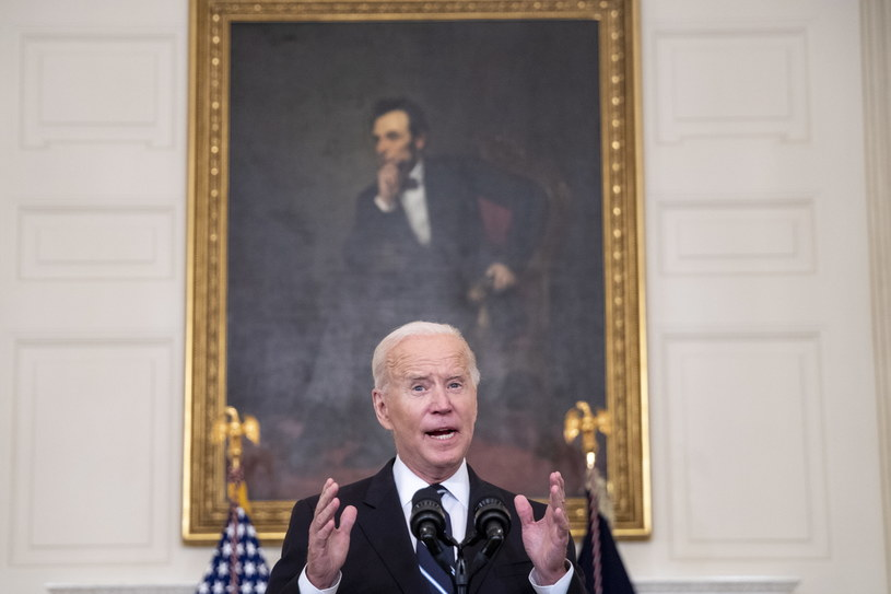 Prezydent USA Joe Biden /SHAWN THEW    /PAP/EPA