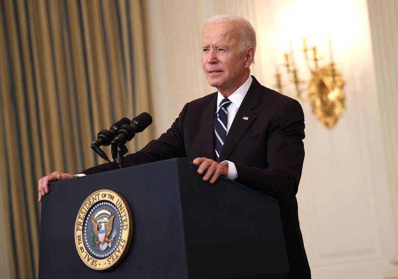 Prezydent USA Joe Biden /KEVIN DIETSCH /Getty Images