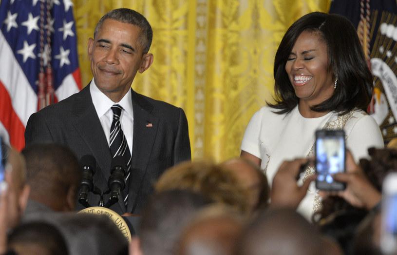 Prezydent USA ma ogromne poczucie humoru! /Pool /Getty Images