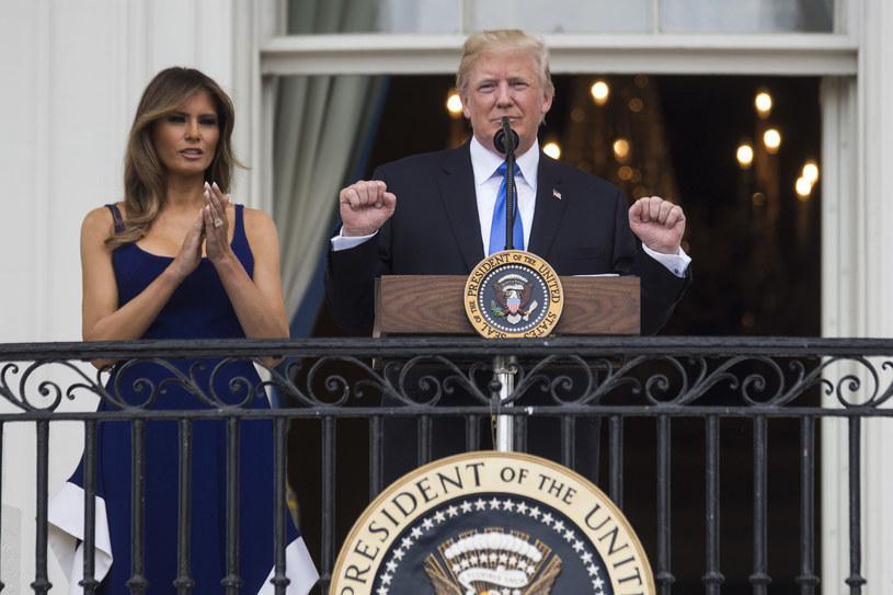 Prezydent USA wraz z małżonką przyleci do Polski dziś wieczorem /ZACH GIBSON / GETTY IMAGES NORTH AMERICA /AFP