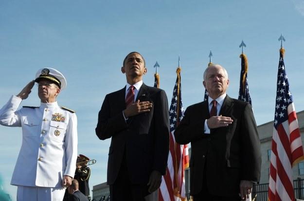 Prezydent USA został dziś w Waszyngtonie. /AFP