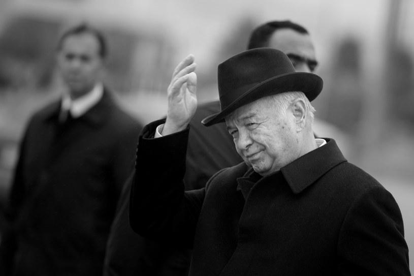 Prezydent Uzbekistanu Isłam Karimow /BRENDAN SMIALOWSKI / POOL / AFP /AFP