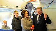 Prezydent w Nowym Jorku. Przyleciał rejsowym samolotem