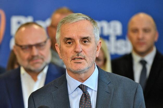 Prezydent Wałbrzycha Roman Szełemej / Maciej Kulczyński    /PAP