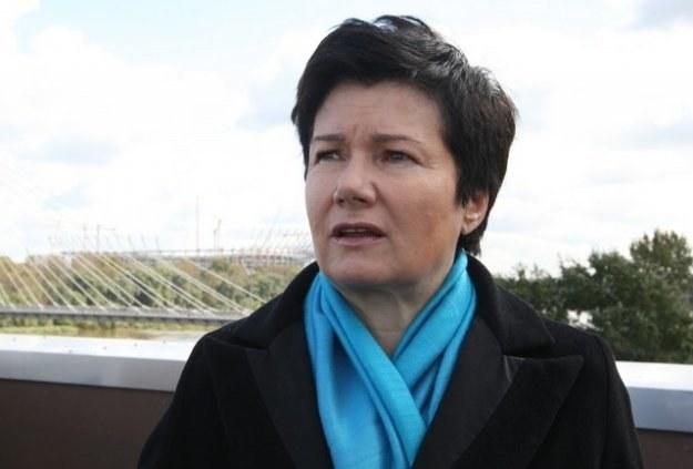 Prezydent Warszawy Hanna Gronkiewicz-Waltz /Stanisław Kowalczuk /East News