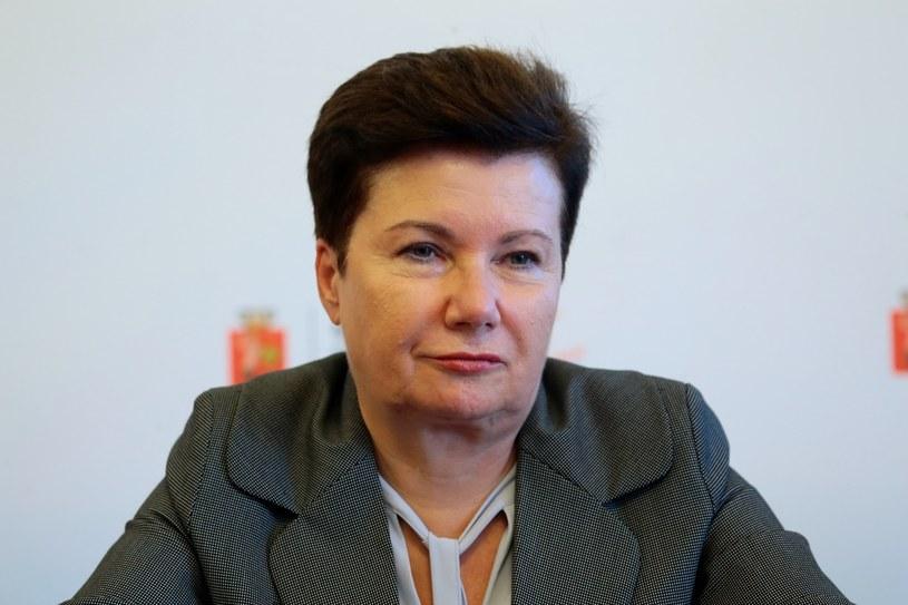 Prezydent Warszawy Hanna Gronkiewicz-Waltz /Adam Jankowski /Reporter