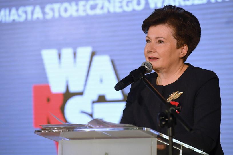 Prezydent Warszawy Hanna Gronkiewicz-Waltz /Piotr Nowak /PAP