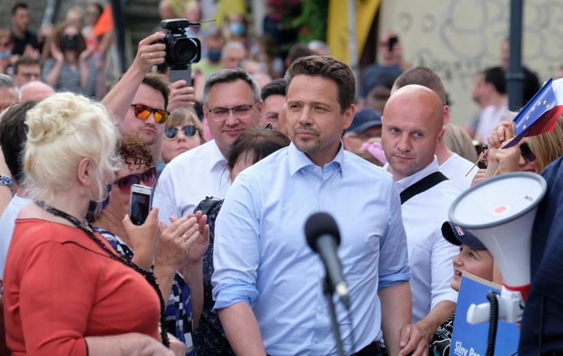 Prezydent Warszawy i kandydat Koalicji Obywatelskiej na prezydenta RP Rafał Trzaskowski / Andrzej Grygiel    /PAP