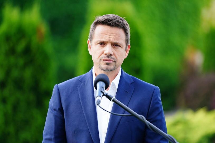 Prezydent Warszawy, kandydat KO na urząd prezydenta RP Rafał Trzaskowski /Mateusz Marek /PAP