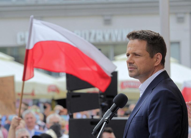 Prezydent Warszawy, kandydat KO w wyborach prezydenckich Rafał Trzaskowski /Tomasz Waszczuk /PAP