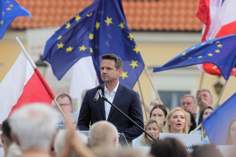Prezydent Warszawy, kandydat KO w wyborach prezydenckich Rafał Trzaskowski / Artur Reszko    /PAP