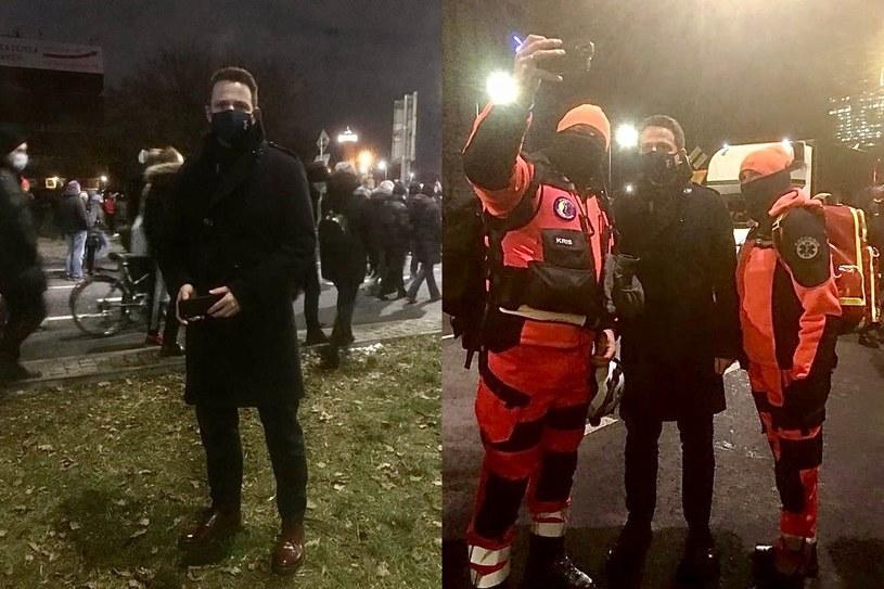 Prezydent Warszawy Rafał Trzaskowski solidaryzuje się z uczestnikami środowego protestu /Twitter / Rafał Trzaskowski /